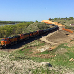 120 Mile BNSF Project