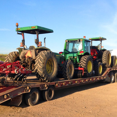 Tractors ready to roll